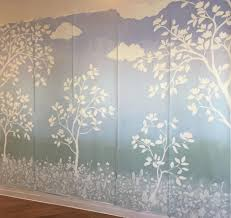 Hand Painted Wallpaper by Shannon Geis Murals
