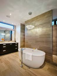 shower behind wall bathroom contemporary with freestanding tub