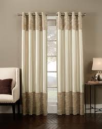 casual picture of window treatment decoration using linen ivory