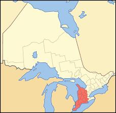 Southwest Canada Map by Southwestern Ontario Wikipedia