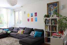 Living Rooms With Grey Sofas by Still Too Much Ikea Here But You Can Start To See How The Sofa
