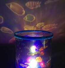 night light projector for kids amazon com aeeque ocean fish led light projector baby night light