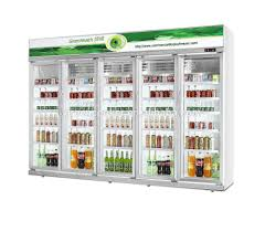 glass door refrigerator for sale gas station glass door display fridge beverage upright