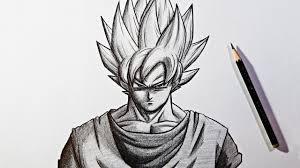simple pencil drawing dragon ball drawing