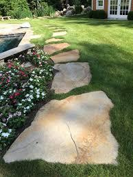 stepping stone path pilato u0027s artscape masonry stone work