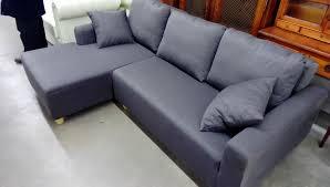 troc canapé canapé d angle 71203 baritone gris occasion troc nancy