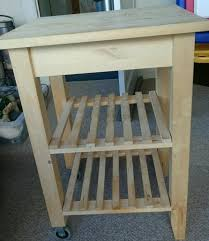 ikea wood butchers block with storage in sunderland tyne and ikea wood butchers block with storage