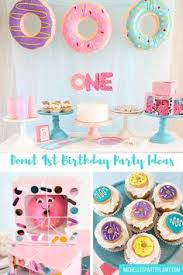 baby girl 1st birthday themes donut birthday party donuts birthdays and birthday party