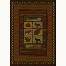 Area Rugs For Cabins Lodge Area Rugs Rugs The Home Depot