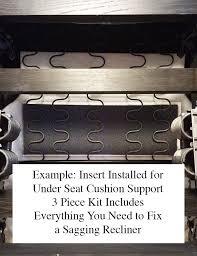 How To Fix Sofa Cushions Amazon Com Sagging Recliner Support Seat Cushion Repair Kit No
