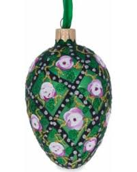 amazing deal on 3 5 trellis faberge egg glass ornament