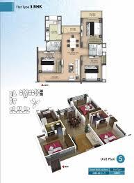 3 Bhk Apartment Floor Plan by 2 3 Bhk Flat Anukampa Platina Mansarover Flatinjaipur Com