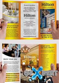 free hotel and motel psd tri fold psd brochure template download