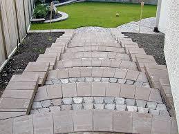 Brick Stairs Design Paving Stone Steps Stone Taffy Design