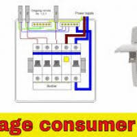 wiring diagram garage consumer unit mk yondo tech