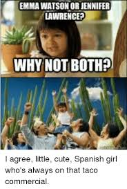 I Agree Meme - emma watson or jennifer lawrence why not both i agree little cute