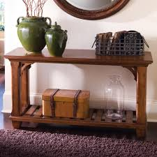 rectangular sofa table with shelf by kincaid furniture wolf and