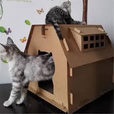 cat cardboard house promotion shop for promotional cat cardboard