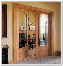 Interior Double Doors Without Glass Brilliant Interior Double Doors With Glass With Contemporary