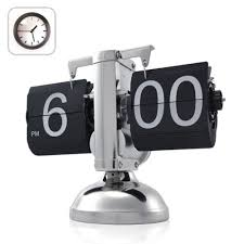 amazon com niceeshop tm retro flip down clock internal gear