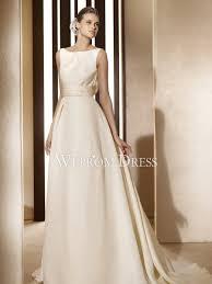wedding dresses on a budget budget sleeveless organza ivory draped backless a line