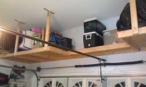 garage wall shelves shelves outstanding shelves suspended from ceiling kitchen