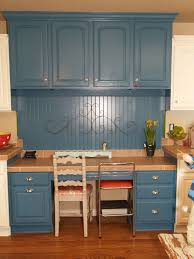 blue painted kitchen cabinets blue kitchen cabinets shoppebunshco