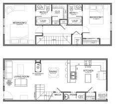 small narrow house plans apartments small narrow house plans house plans for narrow lots