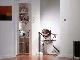 indoor chair stair lift rotating solus stannah france