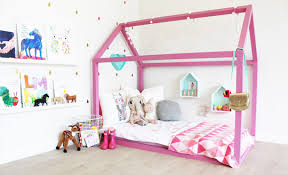 Pink Bed Frames Remodelaholic House Shaped Beds Galore