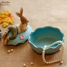 Easter Decorations For Home Easter Decorations For Home America Pastoral Resin Rabbit