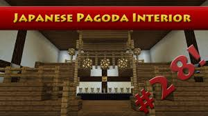 Japanese Temple Interior Minecraft Tutorials Minecraft Tutorial 28 How To Build The