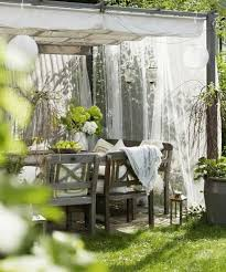 Decorating Pergolas Ideas Beautiful Summer Decorating With Mosquito Nets Improving Pergola