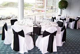Attractive Wedding Decoration Black And White Black And White