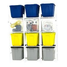 storage bins 18 gallon clear storage bins on sale gray black