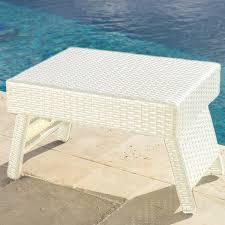 portofino comfort lounge side table chalk rst brands