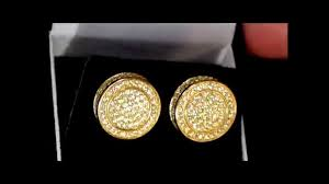 mens gold earrings men s sterling silver 14k gold 3d earrings gold earrings
