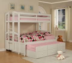 bunk beds teen bedroom furniture for girls wooden full bed