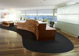 Curved Office Desk by Wesfarmers Curved Reception Desk Designs Ideas Office