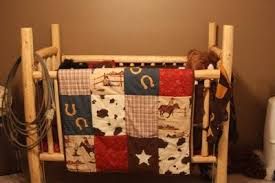 Western Baby Crib Bedding Rustic Baby Crib That We Made From Pine Logs Our Baby S