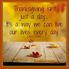 thanksgiving is a way we can live our live everyday pictures