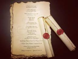 diy scroll invitations scroll wedding invitations sanbenito co