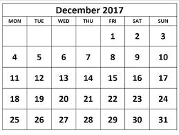 2017 us calendar printable december 2017 calendar usa