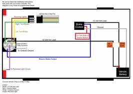 trailer wiring diagram with brakes u0026 6 way round trailer wiring