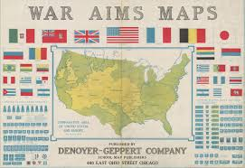 Chicago Map Poster by Resources In The Geography And Map Division About World War I