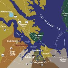 Eastern Shore Virginia Map by Waterfront Community Convenient To All Of Hampton Roads