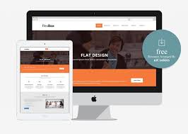 templates bootstrap html5 flexbox corporate free bootstrap html5 web template 100 best