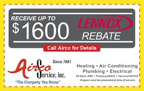 Air Comfort Solutions Tulsa Ok Coupons U0026 Rebates Airco Service