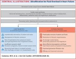 extracorporeal ultrafiltration for fluid overload in heart failure