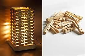 Diy Lamp Shade Diy Clothespin Lampshade Diy Projects Usefuldiy Com